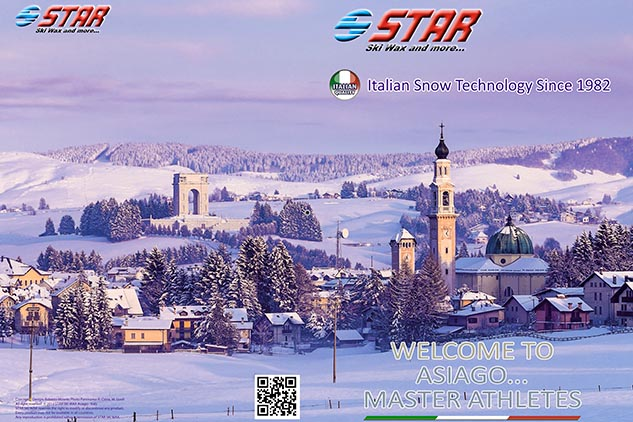 Brochure Star para los mondiales de Ski Cross Country (IT)