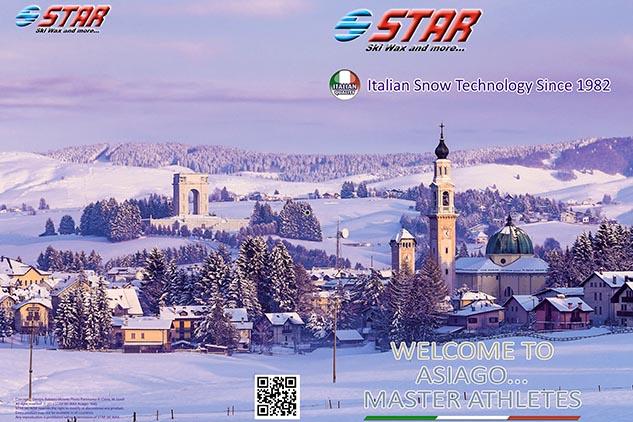 Brochure Star Ski Wax para mondiales en Asiago (IT)