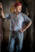 Foto retrato de un gaucho en un tambo de Tres Sargentos, Argentina