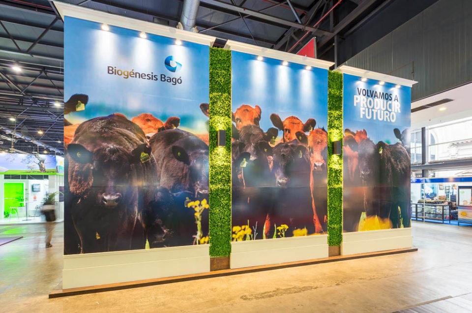 Gigantografía para stand Biogenesis-Bagó en la Rural