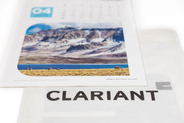 Calendario corporativo Clariant Argentina