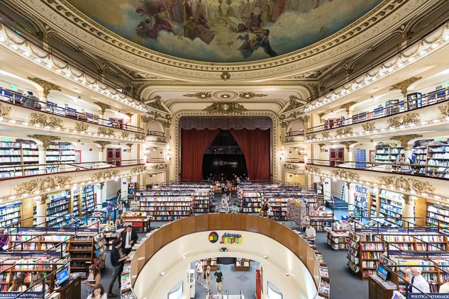 Fotos de El Ateneo Grand Splendid en Stock