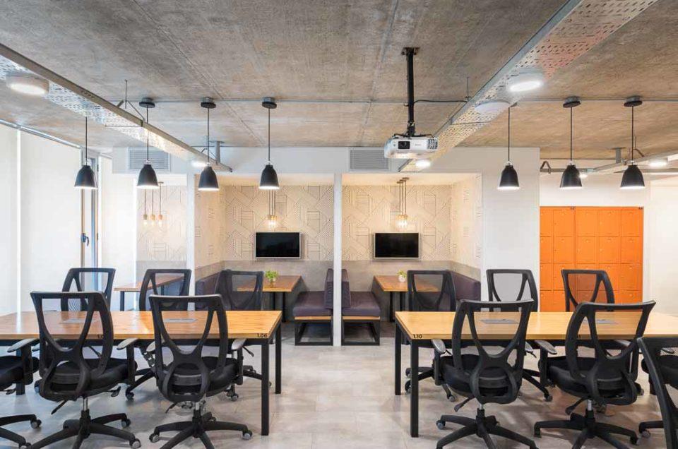 Fotografía de interiores: oficinas de coworking