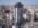 Foto aérea con drone de arquitectura de la Torre Grand View, Buenos Aires, Argentina