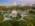 Foto aérea con drone del Planetario Galileo Galilei, Buenos Aires, Argentina