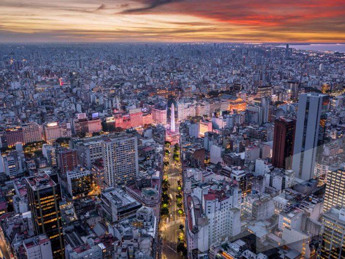 Fotos aéreas de Buenos Aires