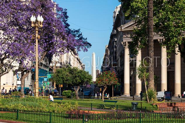 Mes de noviembre del Calendario Argentina 2019 con el Obelisco de Buenos Aires