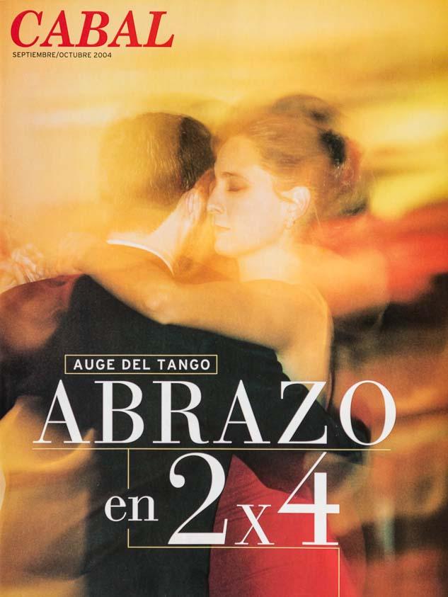 Foto para Tapa de la revista Cabal bimestre septiembre-octubre con una fotografía del Banco de imágenes de Marco Guoli, Buenos Aires