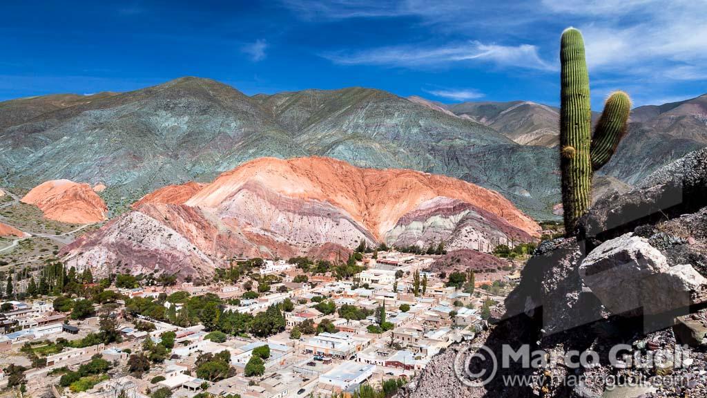 imagen de alta resolución de Marco Guoli a partir de la cual se realizó una gigantografía para un stand del CFI Consejo Federal de Inversiones en Jujuy