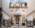 Fotografía de la arquitectura exterior de un centro cultural, Buenos Aires, Argentina