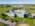 Foto aérea con drone de PPG Industries, Pilar, Argentina