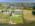 Foto aérea con drone de una propiedad en Nordelta, Argentina