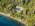Foto aérea de arquitectura del Hotel Calfuco, Neuquén, Argentina