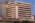 Fotografía de la arquitectura exterior de una empresa de telecomunicaciones, Buenos Aires, Argentina