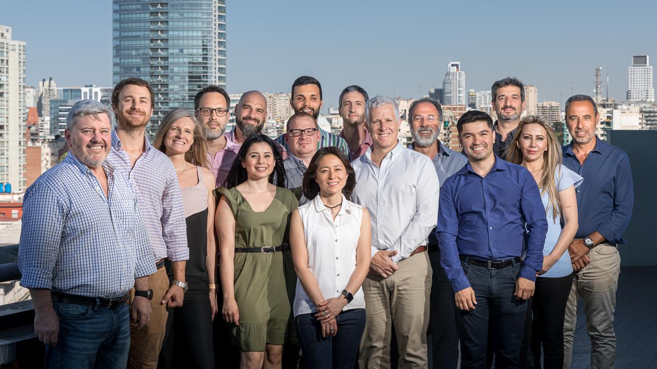 Foto retrato grupal para una empresa en Buenos Aires, Argentina