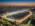 Fotografía aérea del hipódromo de Palermo, Buenos Aires, Argentina