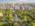 Fotografía aérea del jardín japones, Buenos Aires, Argentina