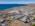 Foto aérea con drone de una empresa de servicios petroleros, Chubut, Argentina