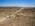 Foto aérea con drone de una empresa de servicios petroleros, Santa Cruz, Argentina