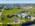 Foto aérea con drone de una empresa en Pilar, Argentina