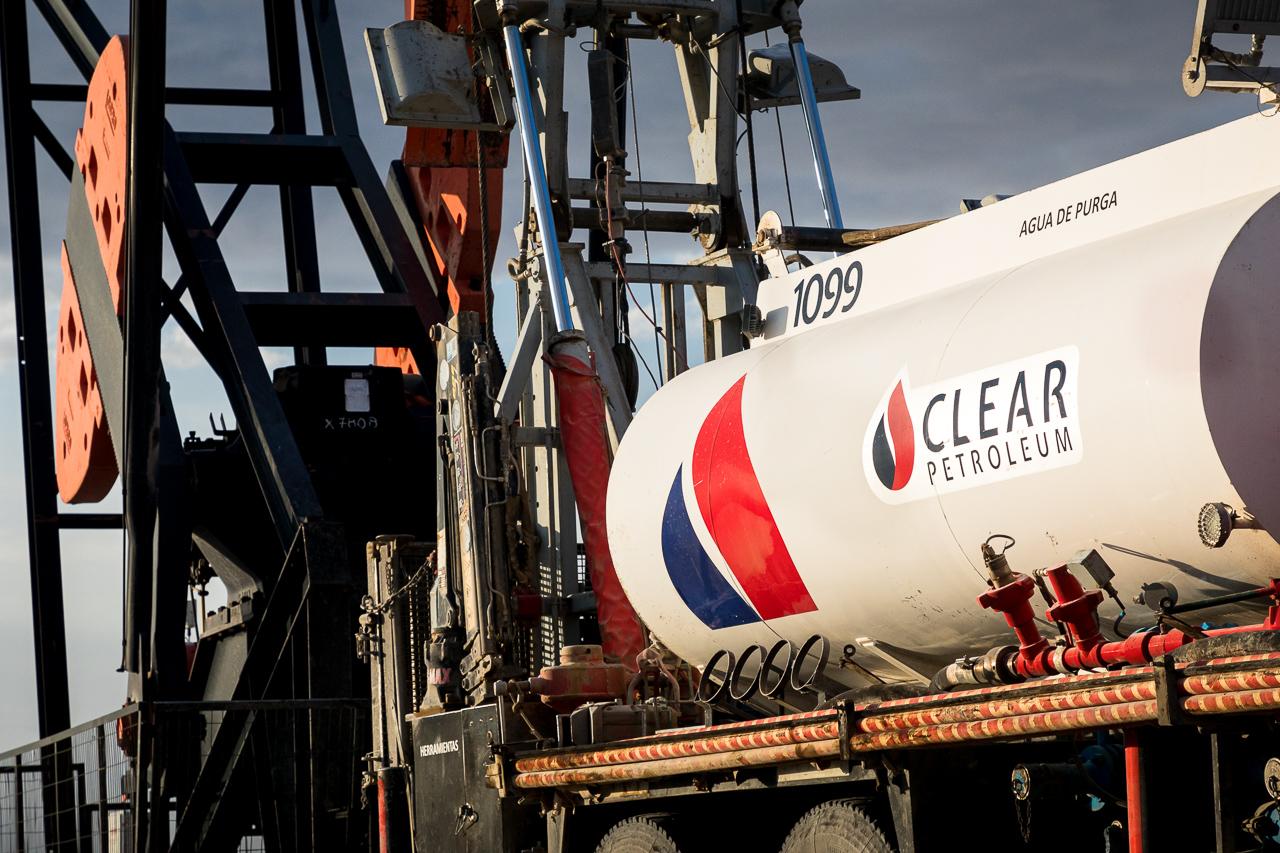 Foto corporativa para una empresa de servicios petroleros en Chubut, Argentina
