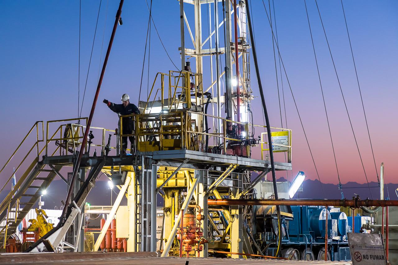 Foto corporativa para una empresa de servicios petroleros en Mendoza, Argentina