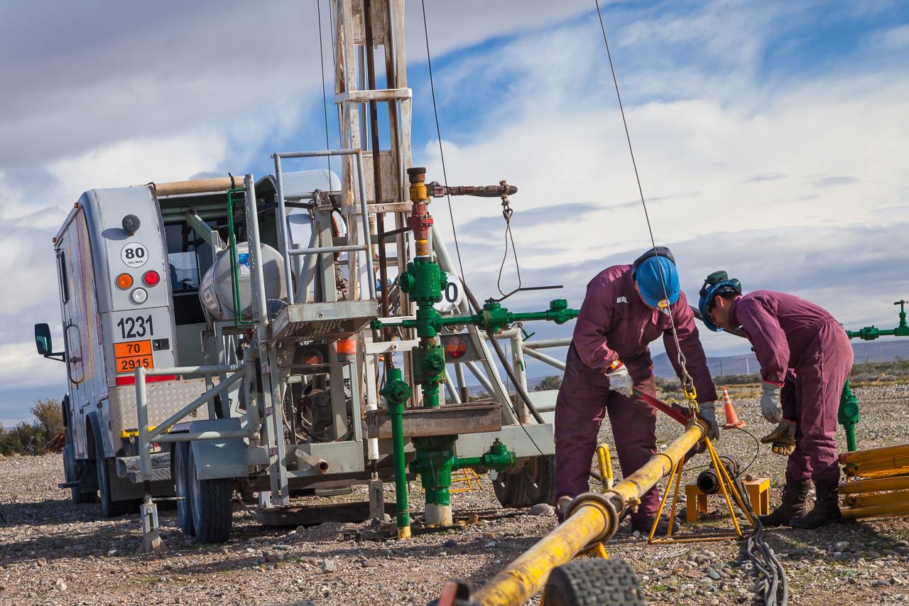 Foto corporativa para una empresa de servicios petroleros en Santa Cruz, Argentina