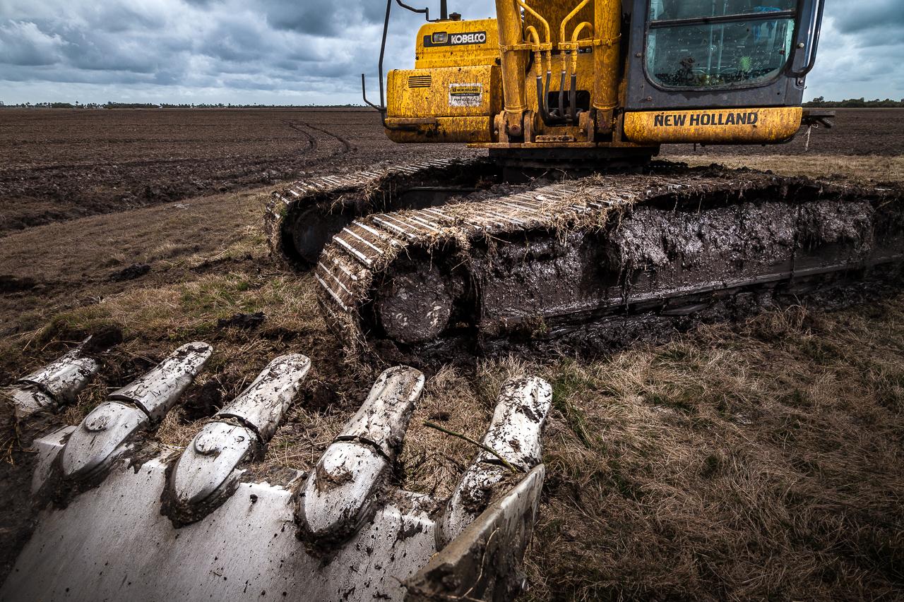 Fotografía industrial de una empresa de maquinarias en Uruguay