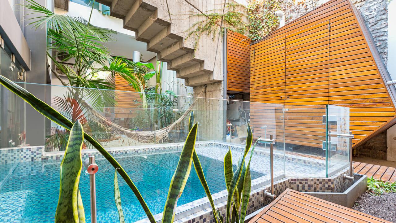 Foto de los interiores de un departamento en Palermo Soho, Buenos AIres, Argentina