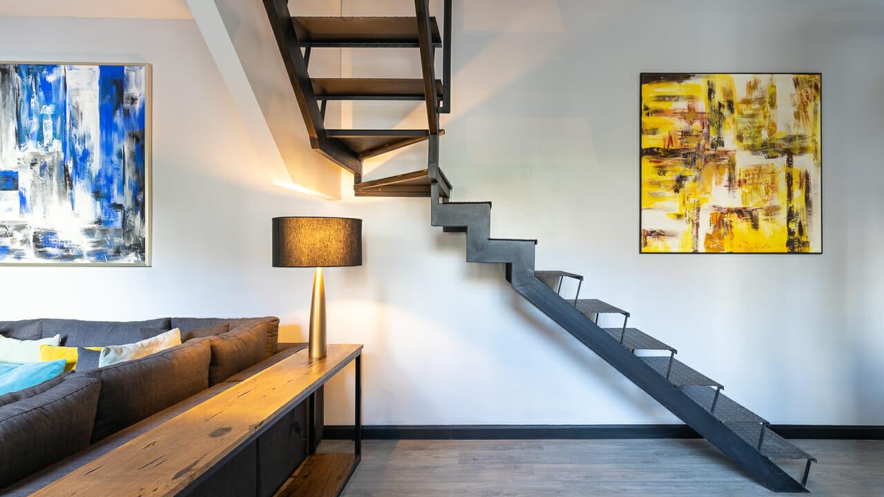 Foto de los interiores de una casa en Palermo Soho, Buenos AIres, Argentina