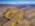 Fotografía aérea con drone de un paisaje en la provincia de Mendoza, Argentina