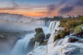 Imagen de un paisaje de Argentina en el Parque Nacional Iguazú