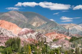 Fotografía de un paisaje en la provincia de Jujuy, Argentina