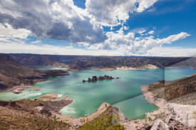 Foto de paisaje argentino en la provincia de Mendoza