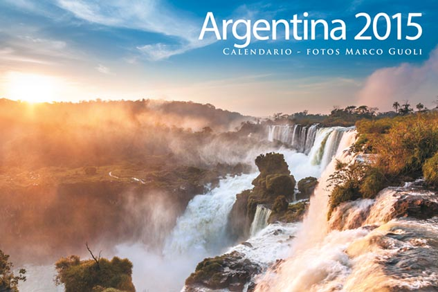 Las imágenes del Calendario Argentina 2015