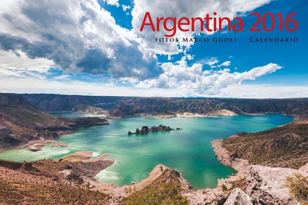 Todos los paisajes del Calendario Argentina 2016