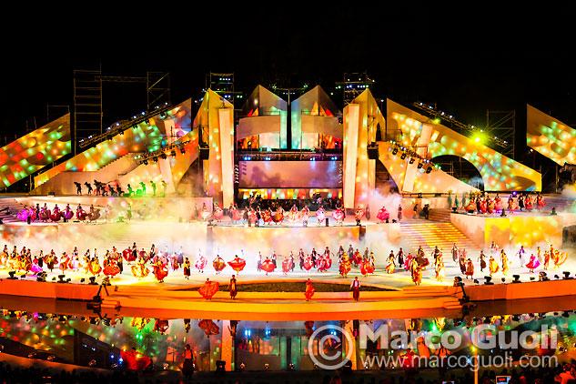 Mes de marzo del Calendario Argentina 2015 con una imagen del teatro romero day en mendoza