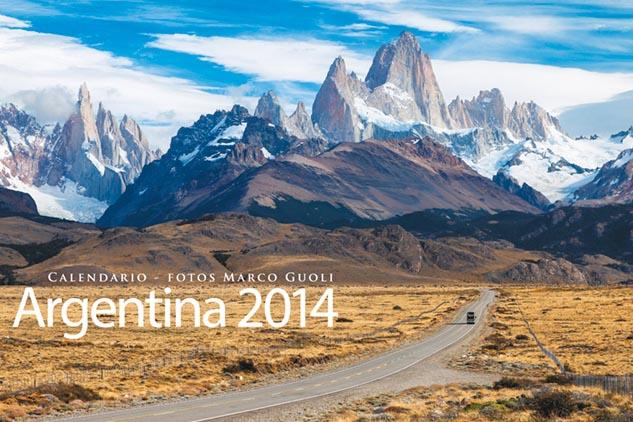 Llegó la edición del Calendario Argentina 2014