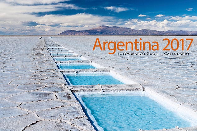 Las imágenes del Calendario Argentina 2017