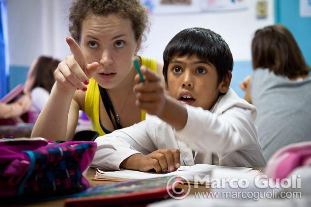 Fotografía documental: reportaje con niños